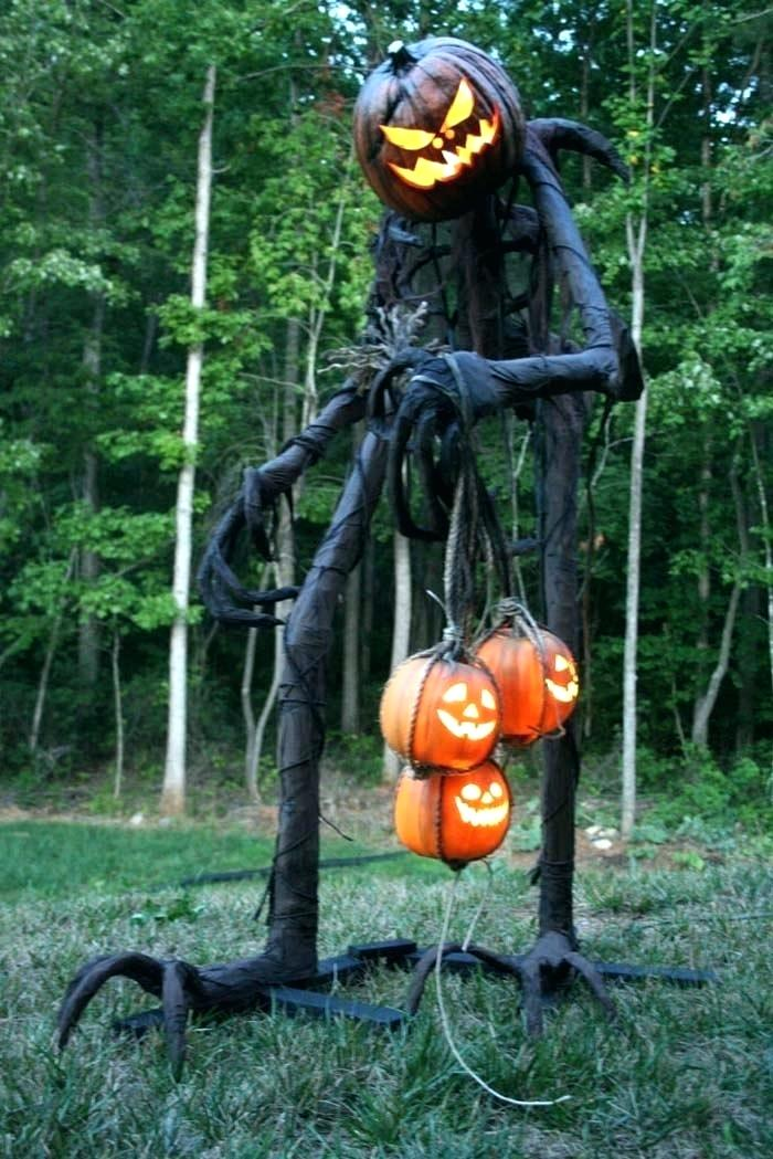 outside halloween decoration ideas luxury scary outdoor