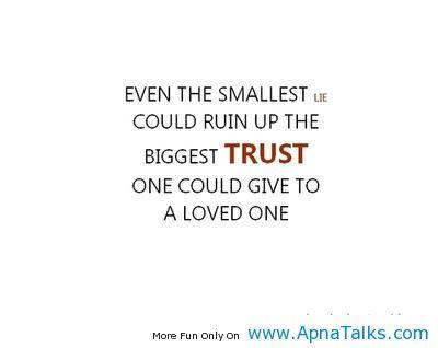 Quotes About Living a Lie | ... ://www.apnatalks.com ...