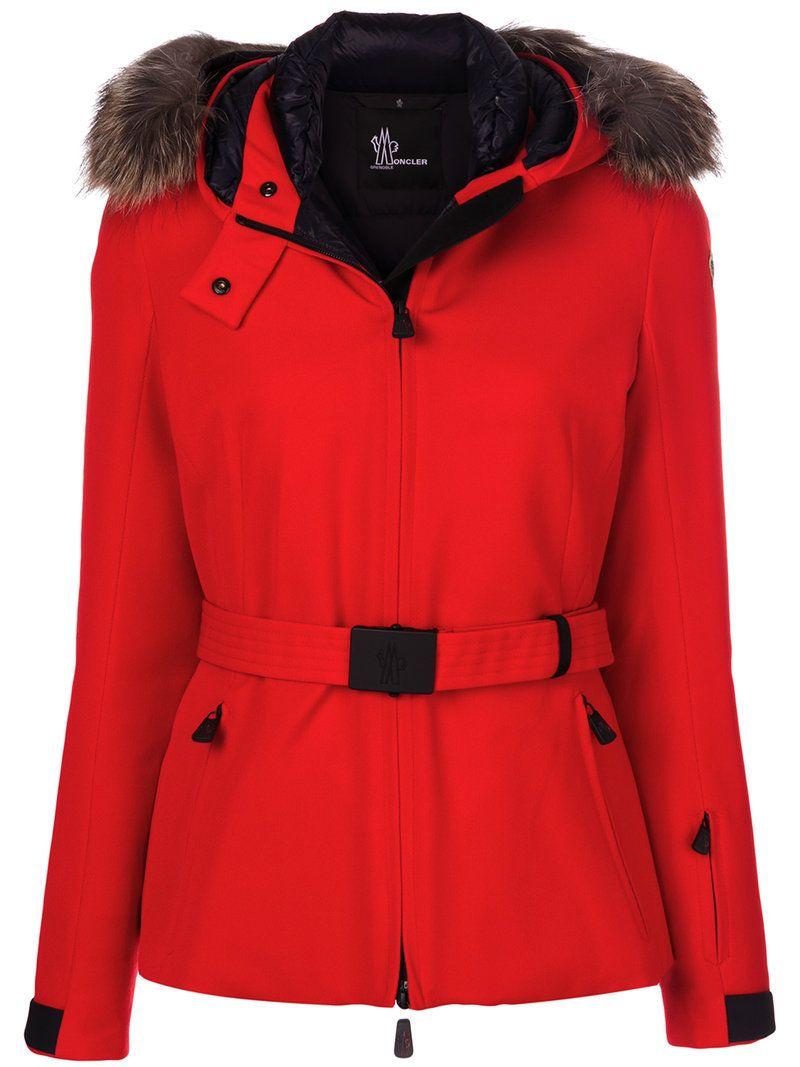 moncler grenoble funnel zip jacket