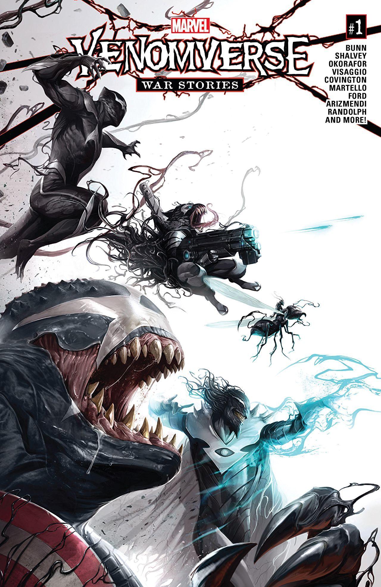 Edge of Venomverse War Stories 1 Marvel comics art