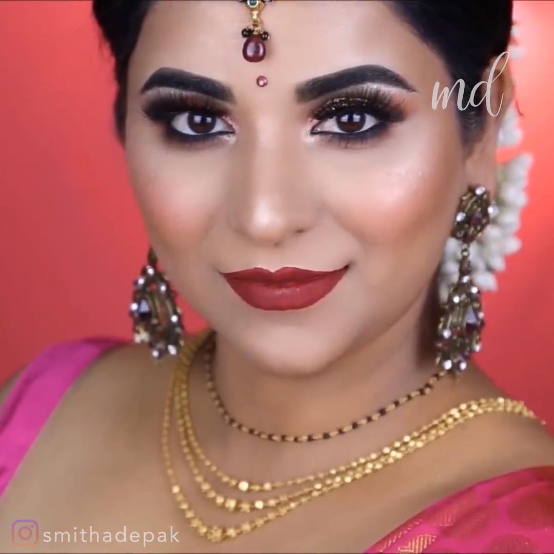 Indian Festival Makeup Look Tutorial makeup