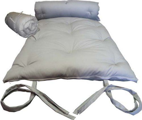 Brand New Gray Traditional Japanese Floor Futon Mattresses, Foldable  Cushion Mats, Yoga, Meditaion. Au0026D Futon Furniture