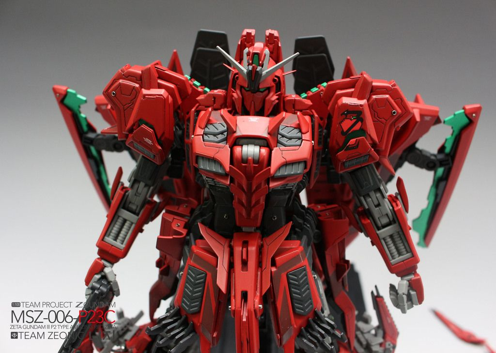 [MG] MSZ-006-P23C AMAZING RED ZETA / 레드제타 | Daum 루리웹