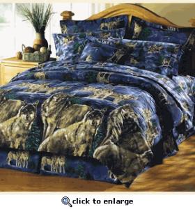 Wolf Bedding Comforter Sets Remodel Bedroom Comforters