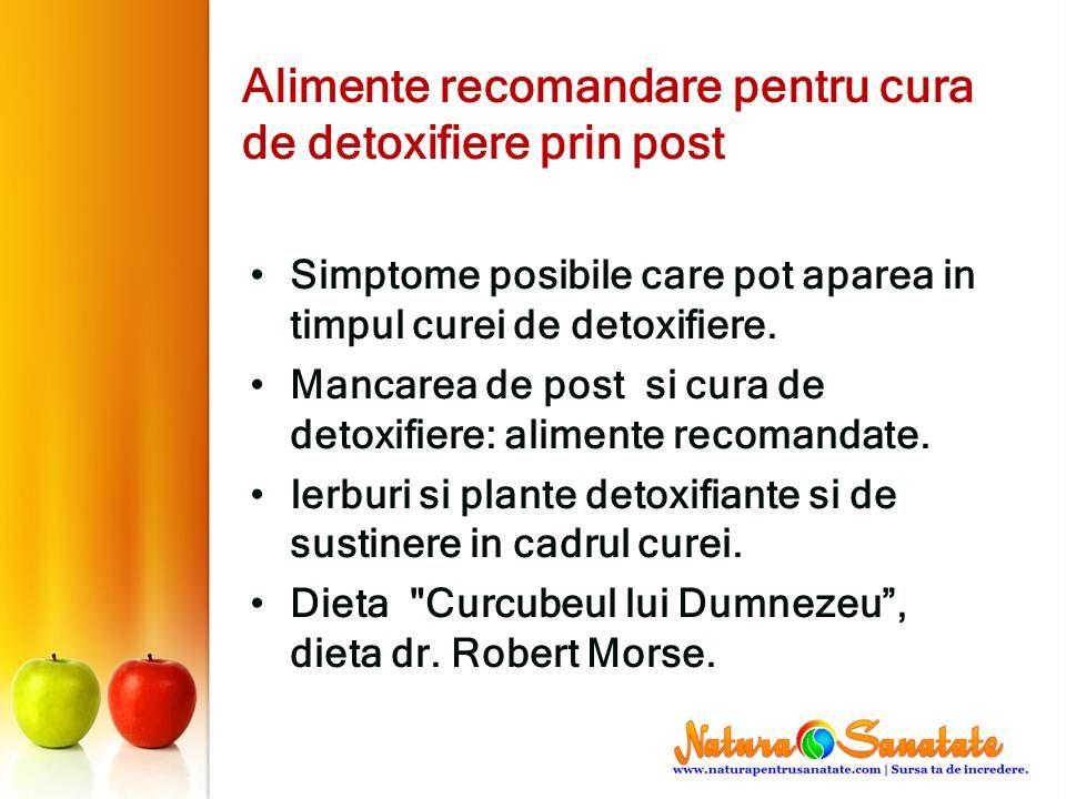 Detoxifiere prin post - Desire Merien