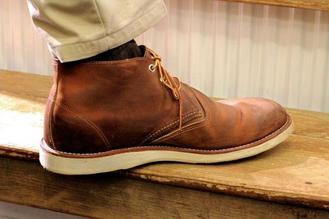 d76a62c96 Work Chukka in Copper. Work Chukka in Copper Red Wing Chukka Boots, Red  Wing Boots, Mens ...