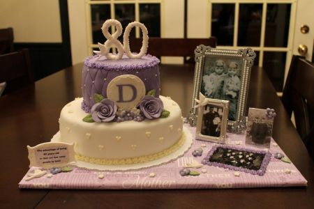 80th Birthday Cake See More Party And 80th Birthday Cake