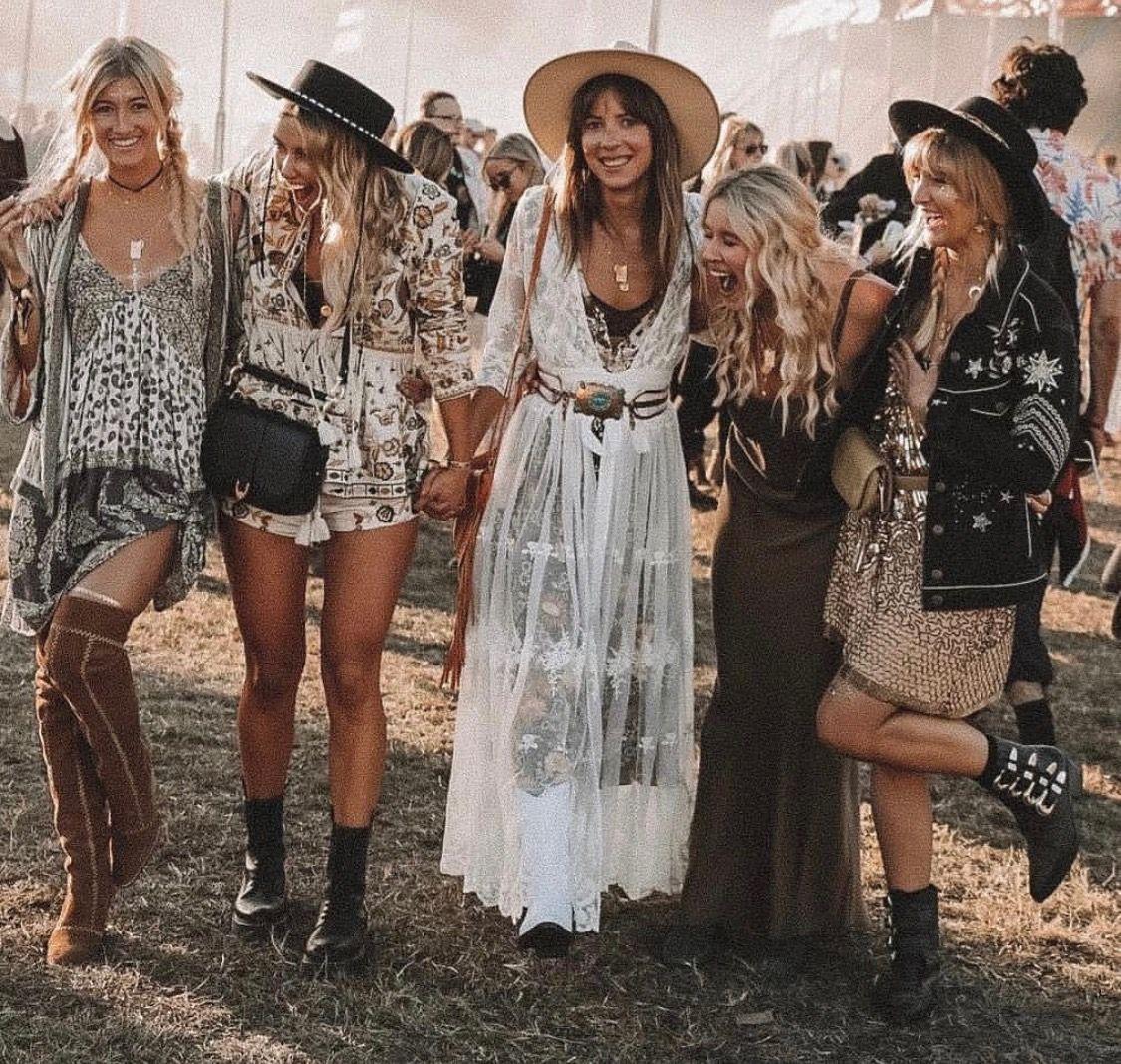 Summer Boho Festival Outfits