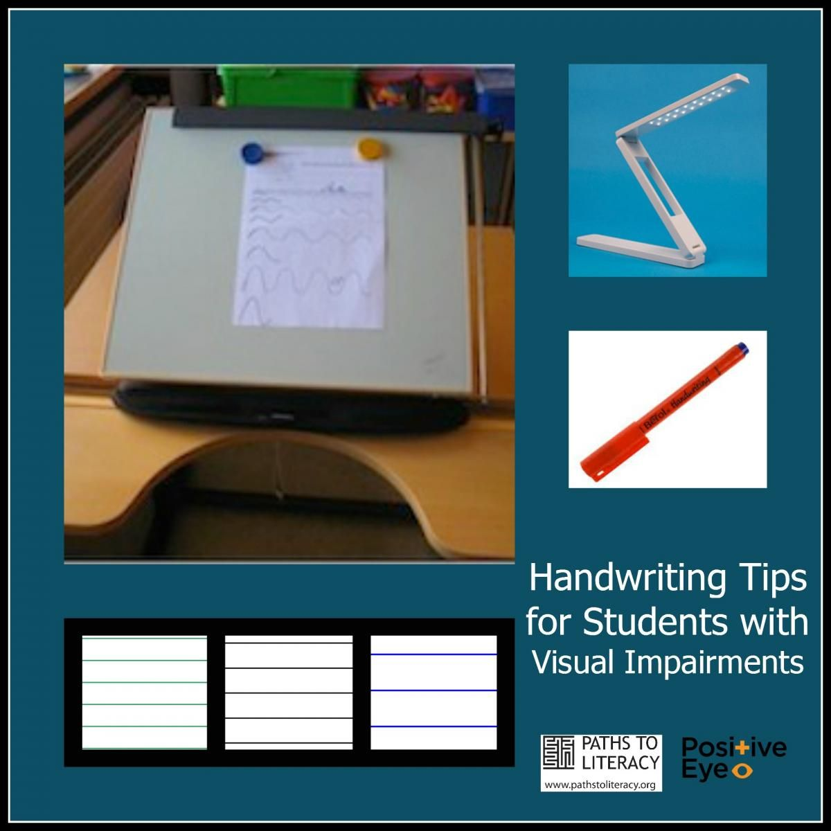 Handwriting Tips For Students With Visual Impairments