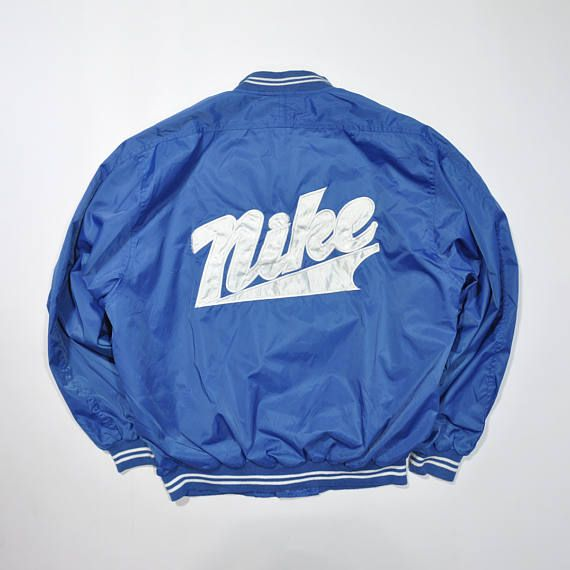 Vintage 80s 90s Nike Varsity Jacket Retro Nike Jacket Nike Big Logo Nike Vintage Windbreaker N Retro Nike Jacket Nike Varsity Jacket Nike Bomber Jacket