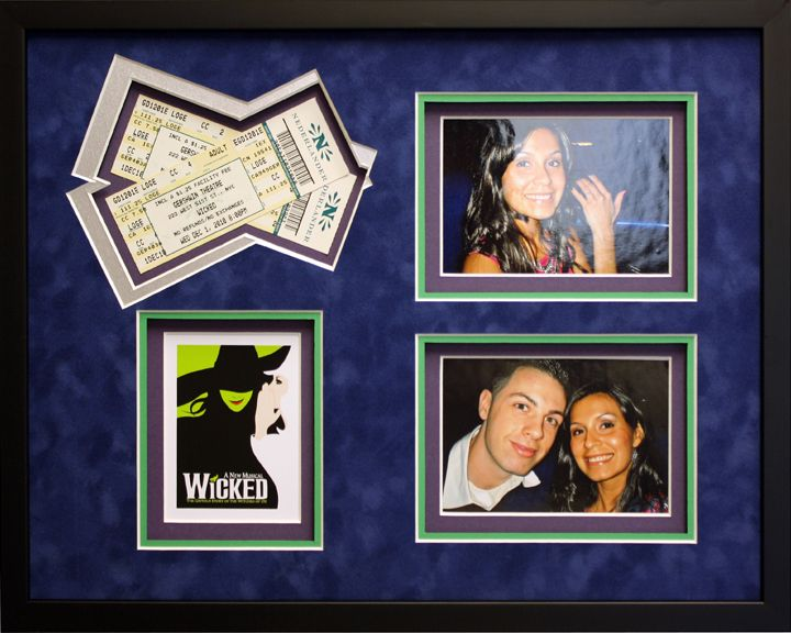 Pin On Concert Tickets And Show Memorabilia Collages