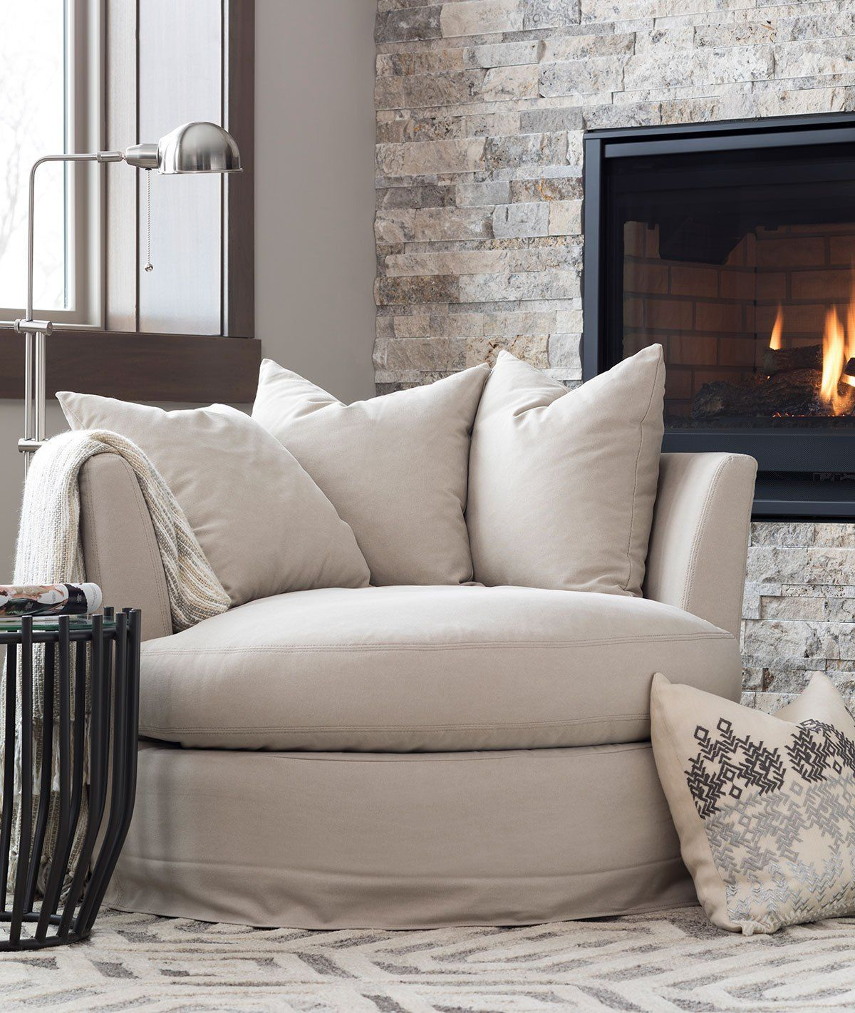 Small Living Room Ideas For More Seating And Style: Design Tips For Decorating With Neutrals