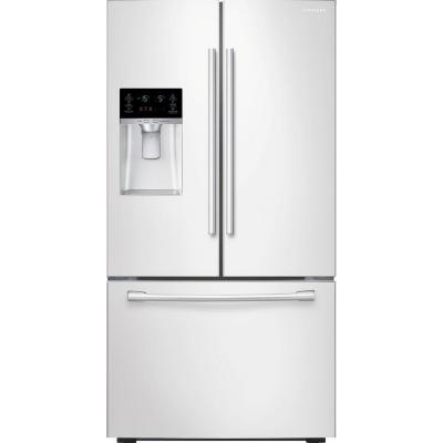 Samsung 22.5 cu. ft. French Door Refrigerator in White