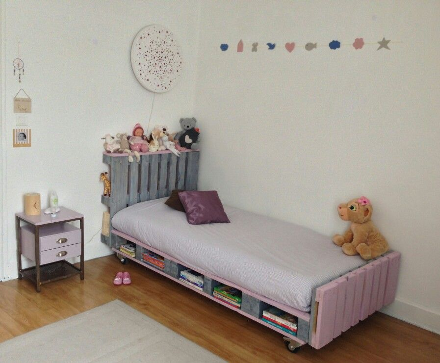 lit palette pour enfants lit enfant pinterest. Black Bedroom Furniture Sets. Home Design Ideas