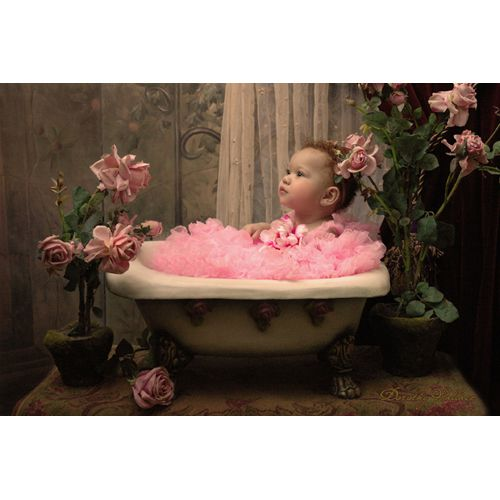 Modern Pink Baby Bathtub Illustration - Bathtubs For Small Bathrooms ...