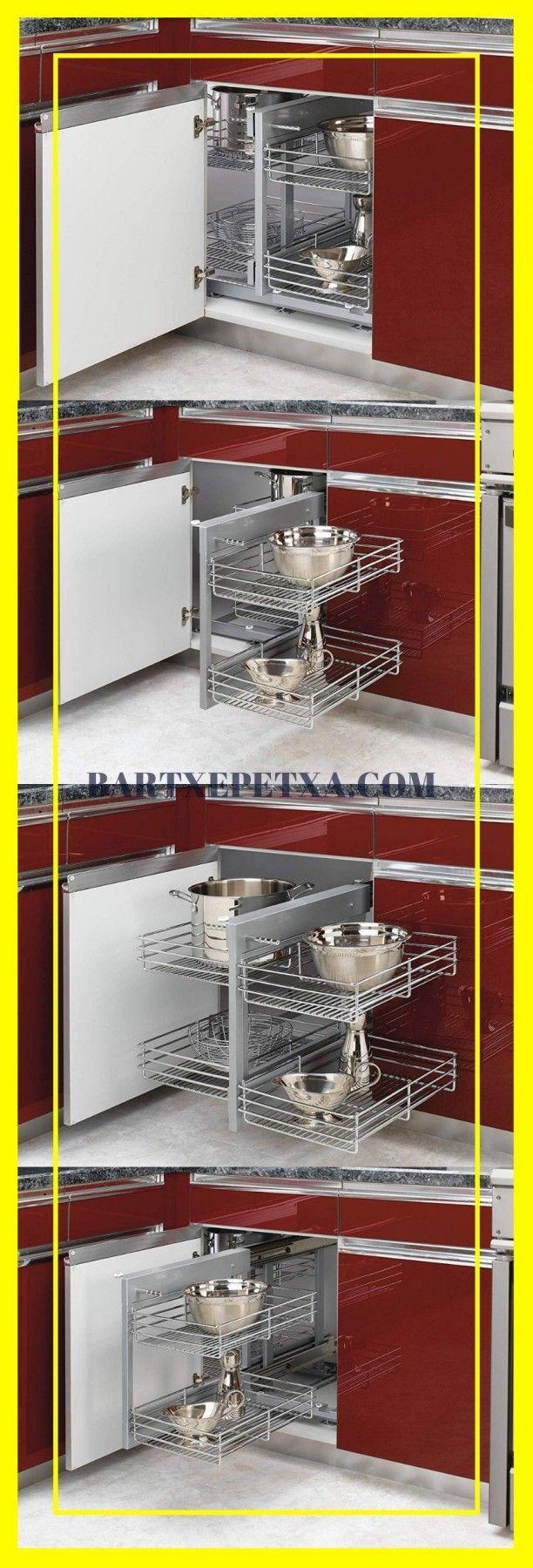 #kitchen #cabinet #organization Kitchen Cabinet Organizers (Corner and Pull Out Organizer Ideas) #cabinetorganizers