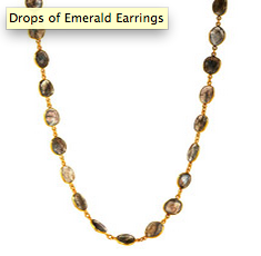 Mix by the full yard in Labradorite Necklace via grazielagems.com