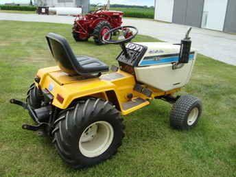Diesel Garden Tractor