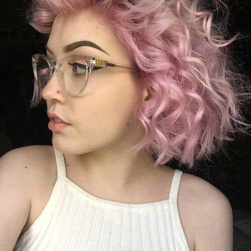 25 Light Curly Hair Colores De Cabello Claro Color De Cabello Estilos De Pelo Rizado