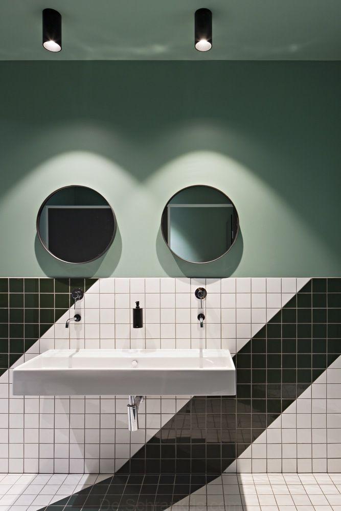 24 Wandfarben Ideen Badezimmer