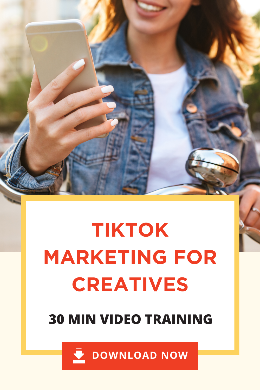 Tiktok For Business Video Training Mkw Creative Co Business Video Social Media Advice Video Marketing