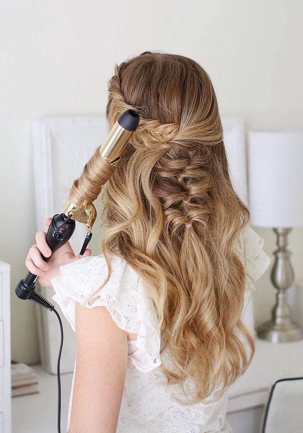 Coole Frisuren Madchen Lange Haare Helle Haarfarbe 2019