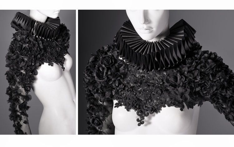 Couture top by Lory Sun   High fashion outfits, Bold ...