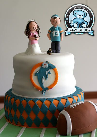 Gainesville Florida Wedding Cakes Miami Dolphins Cake Dolphin Cakes Wedding Cakes