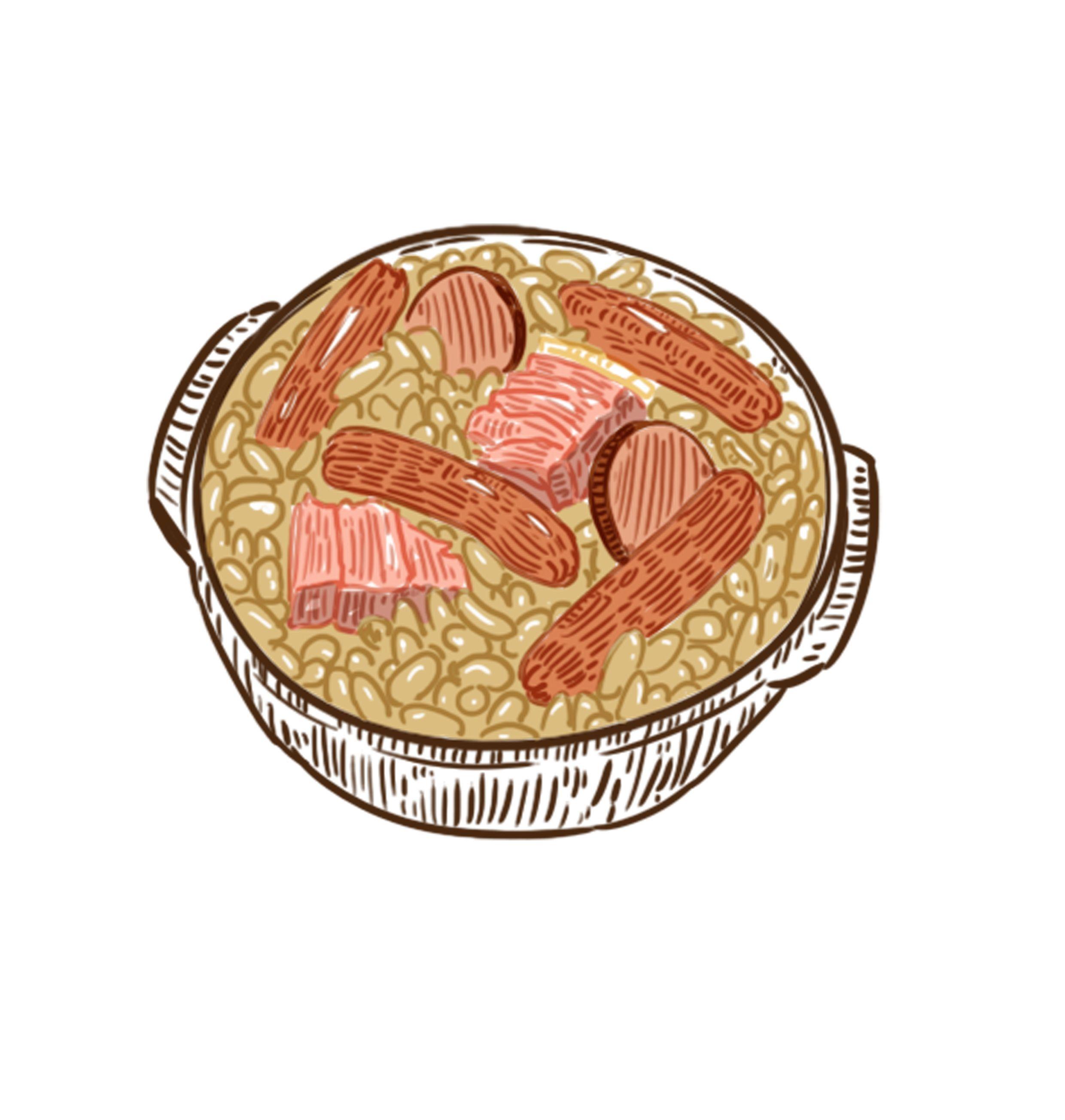 #음식 #그림 #일러스트레이션 #일러스트 #cassoulet #food #nourriture #draw #french #frenchfood #drawing #digital #sketch #fastdraw #dessin #cuisine