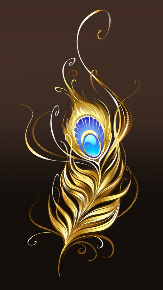 Wallpapers Iphone Feather Wallpaper Feather Art Peacock Feather Art
