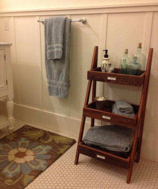 solutions pour petite salle de bains Facile Pinterest