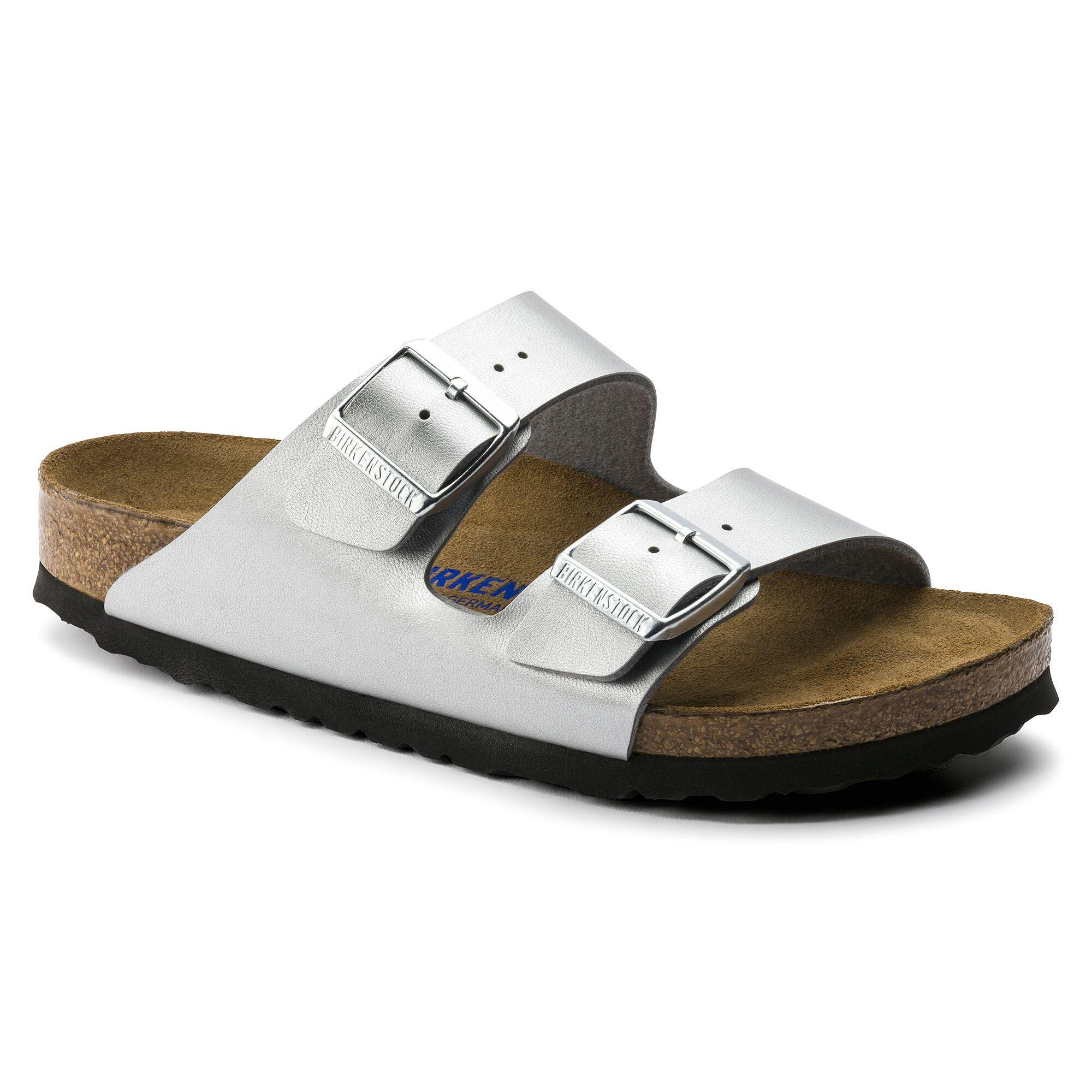 Papillio Arizona Platform Leather Casual Open-Back Slide Womens Sandals