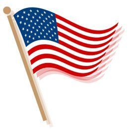 free american flag clip art clip art and flags rh pinterest com free waving american flag clip art free american flag clip art images
