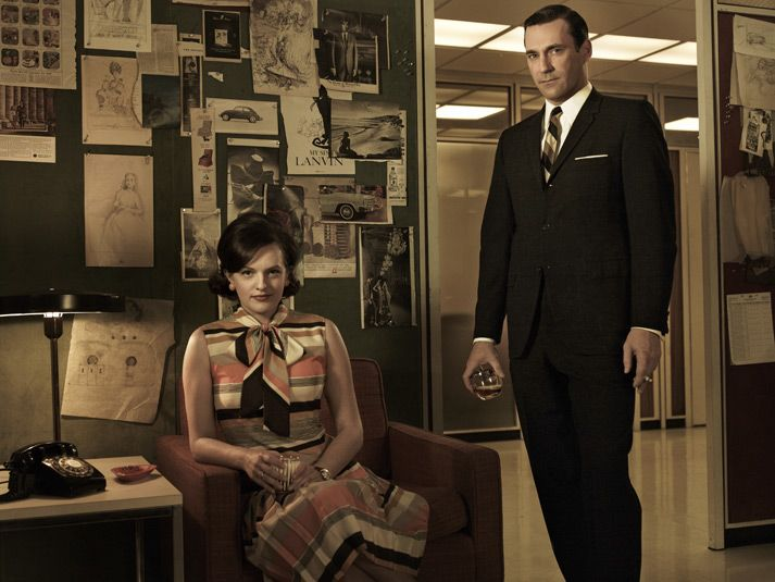 My two favorite people in Mad Men looking extremely hot. SO glad Mad Men is back!