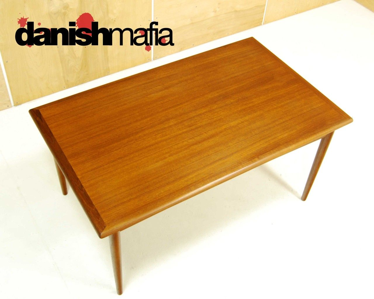 Scandinavian Teak Dining Room Furniture Mid Century Danish Modern Arne Vodder Teak Dining Table  Danish