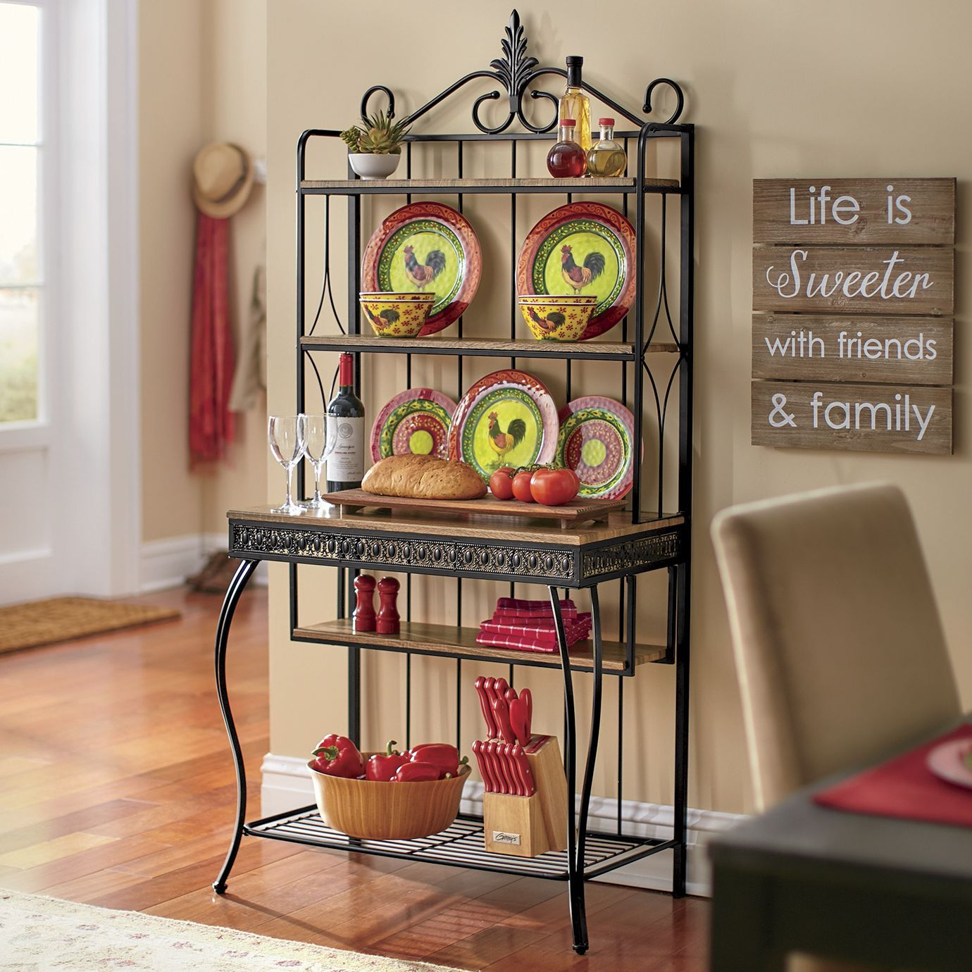 Labelle Bakers Rack Bakers Rack New Furniture Dining Furniture