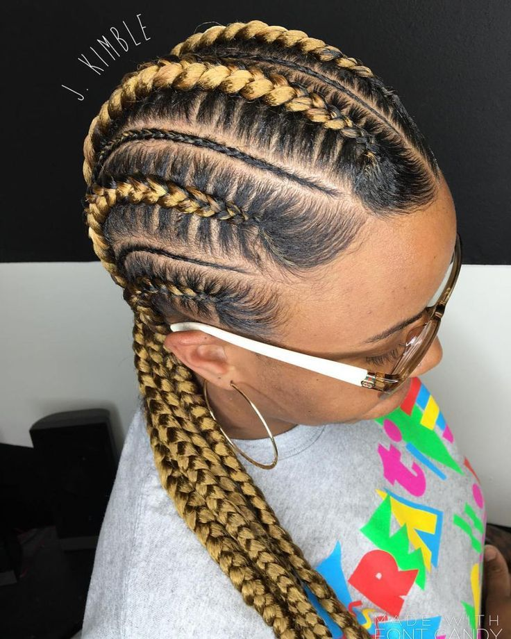 Blonde Cornrows For Black Hair With Images Braids For Black