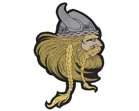 Viking Norse Mythology Embroidered Big Patch #3 #norsemythology Viking Norse Mythology Embroidered Big Patch #3 #norsemythology