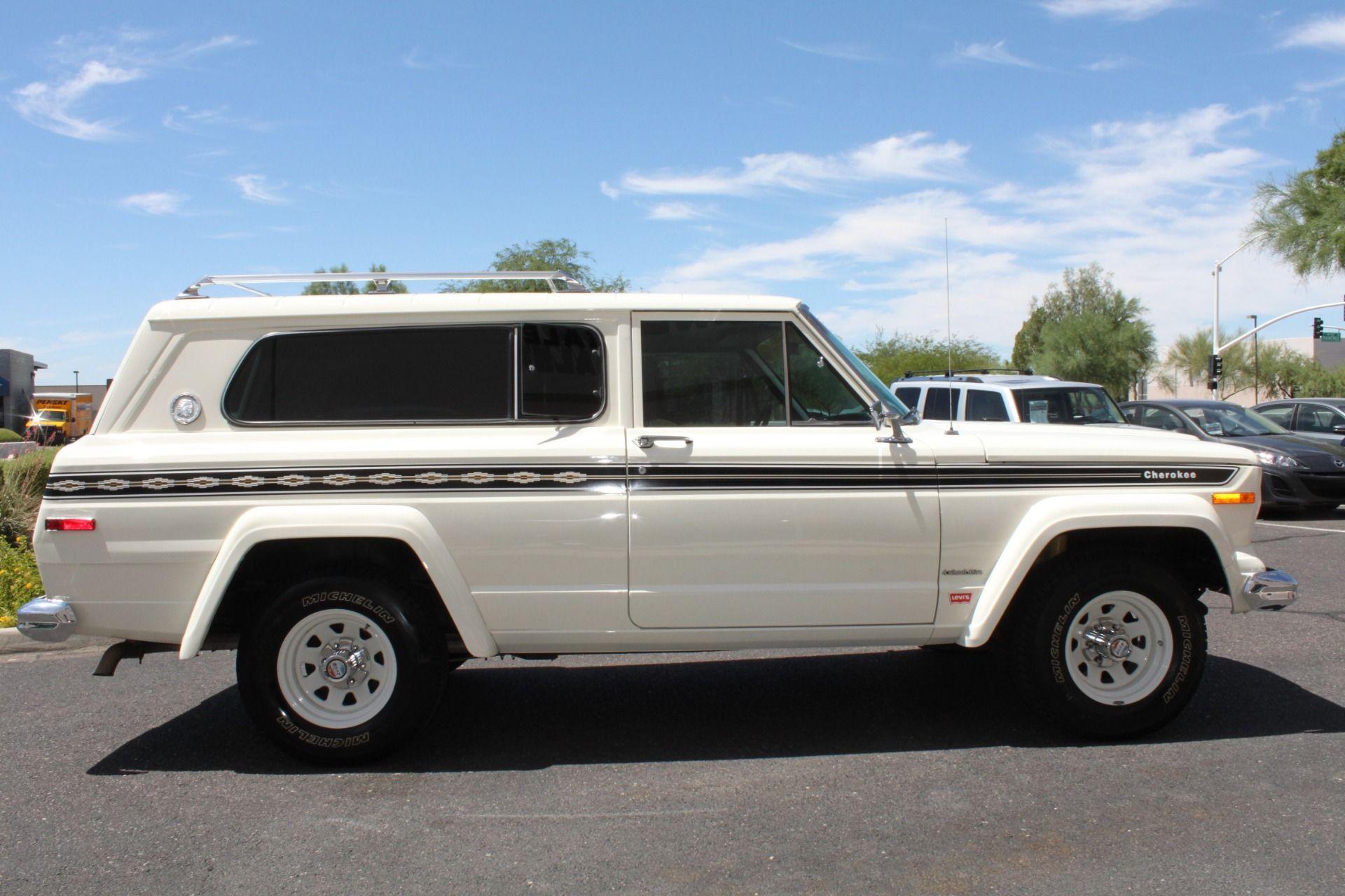 1977 Jeep Cherokee S Widetrack 4x4 401 V8 Stock P1236 For Sale Near Scottsdale Az Az Jeep Dealer Jeep Cherokee Jeep Dealer Jeep