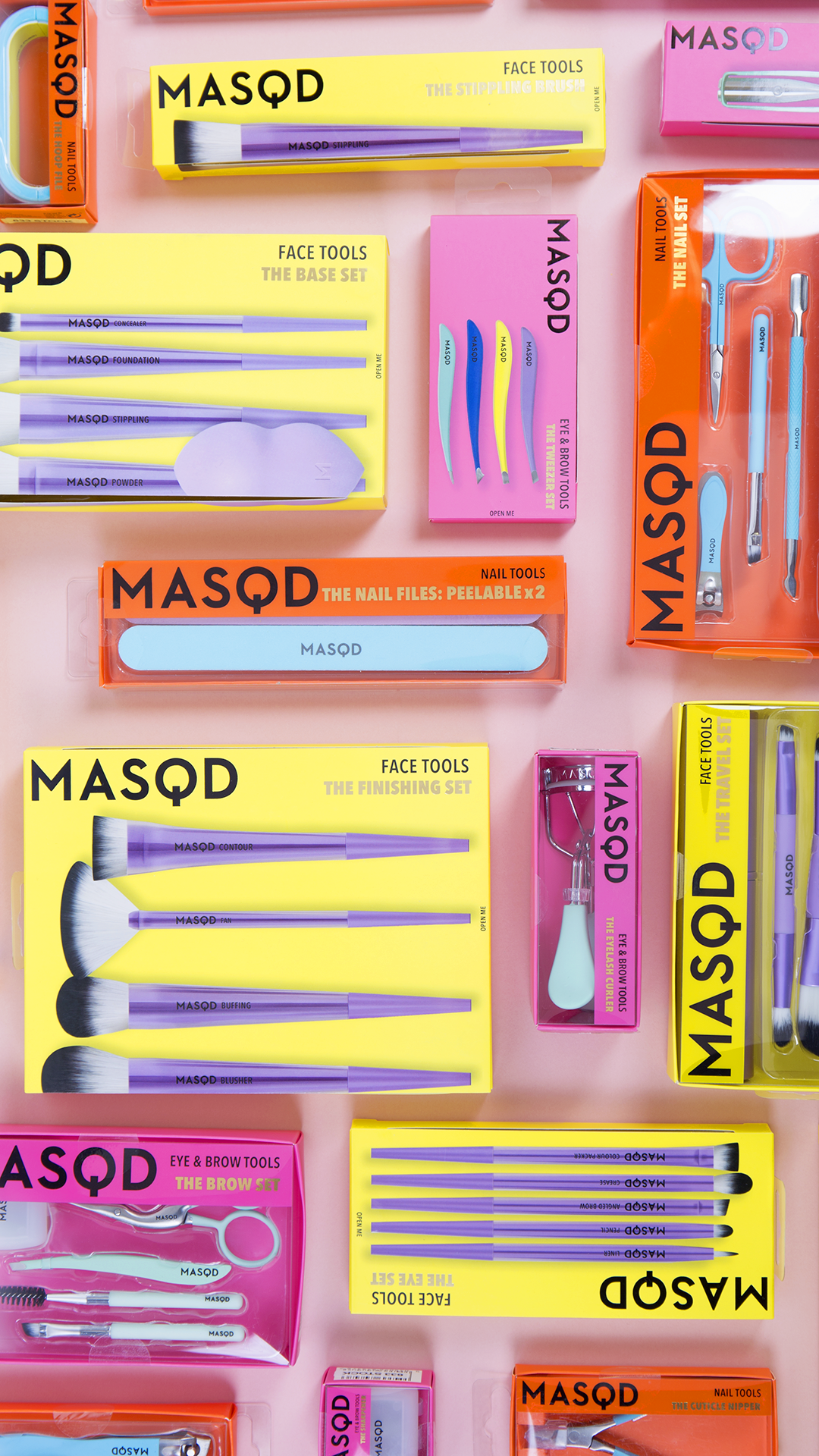 MASQD Makeup Brushes Collection at Boots Face tools