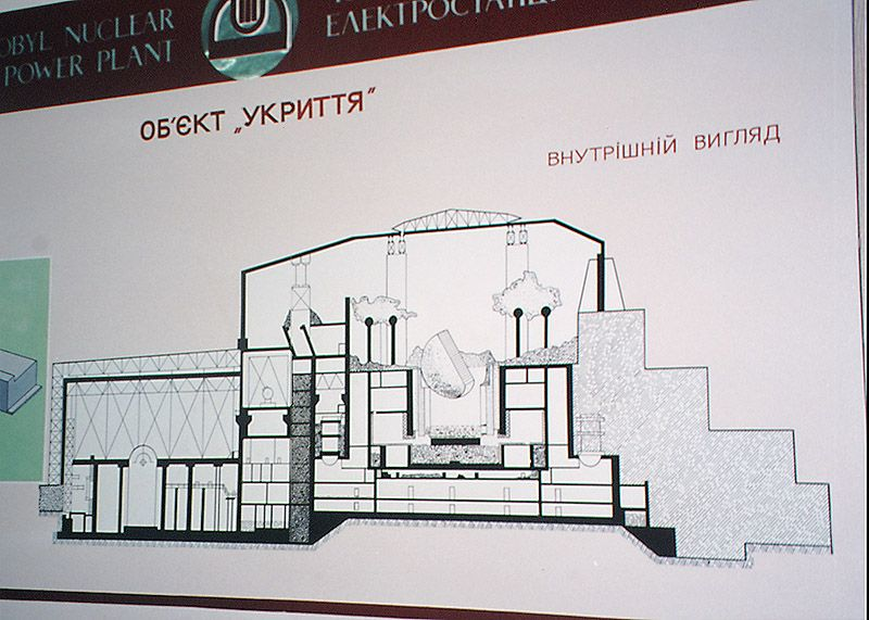 Ukch104 russian diagram of the 4th block chernobyl reactor ukch104 russian diagram of the 4th block chernobyl reactor theres concern the lid might collapse spewing up radioactive contaminants ccuart Images