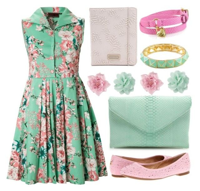 """""""Girls Day Out"""" by nurshirinnabihah ❤ liked on Polyvore featuring Sperry Top-Sider, J.Crew, H&M, Forever 21, Marc by Marc Jacobs and Juicy Couture"""