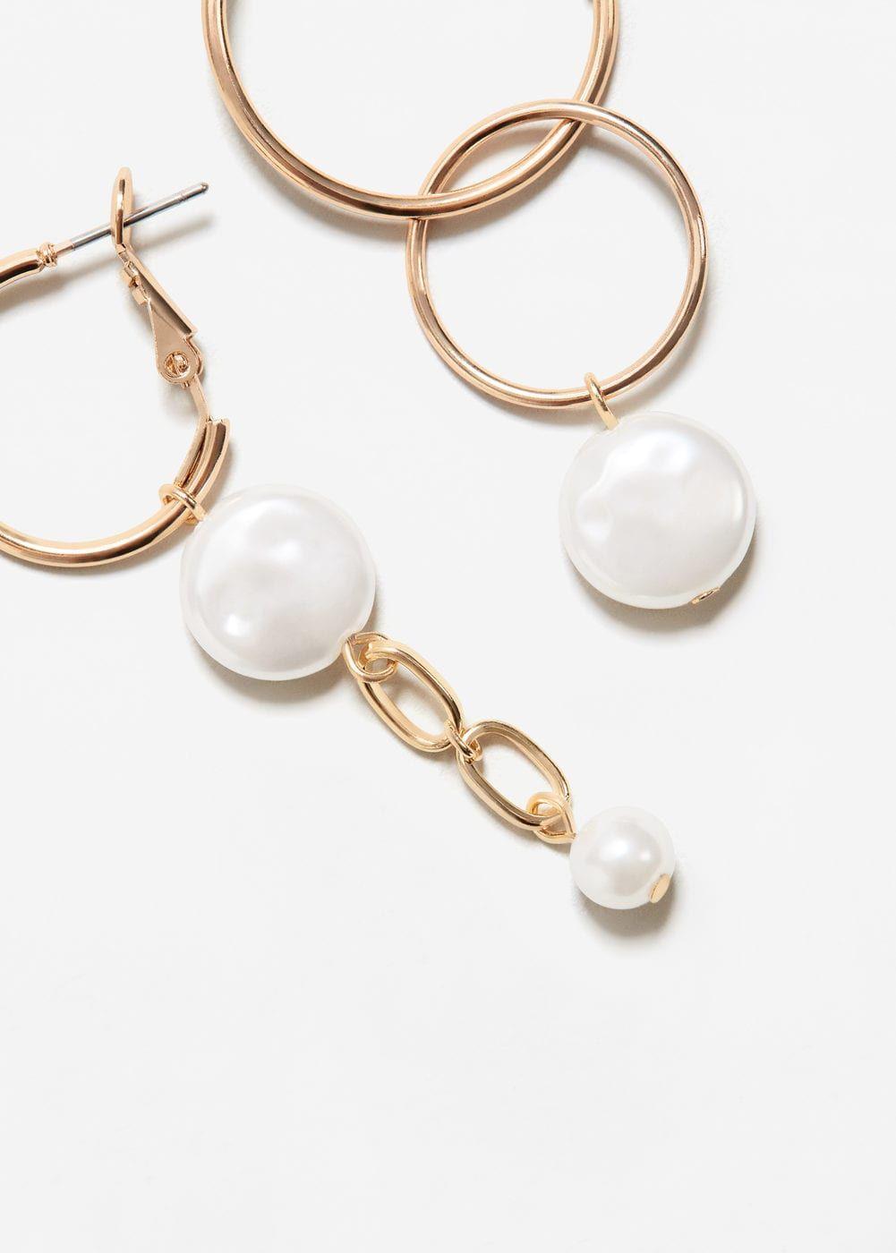 Mixed pendant earrings women pendant earrings pendants and woman mixed pendant earrings women mango usa mozeypictures Gallery