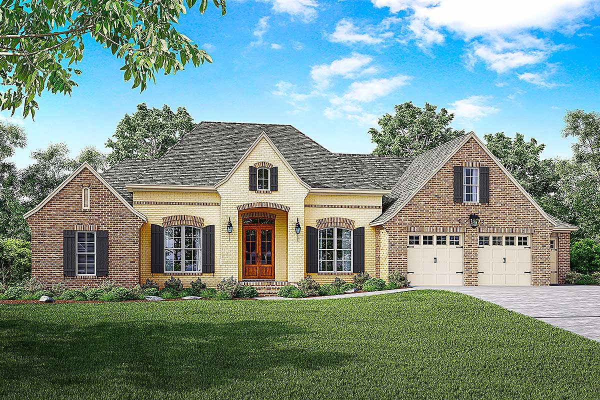 Plan 51752hz French Country House Plan With Split