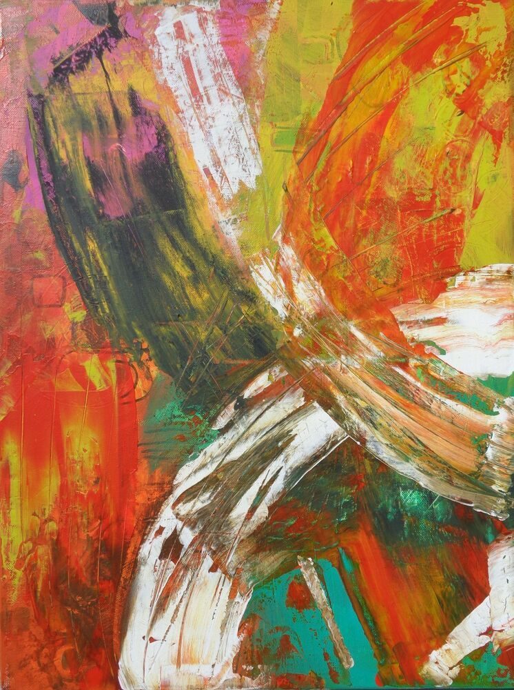 Abstract Modern Art Canvas Painting
