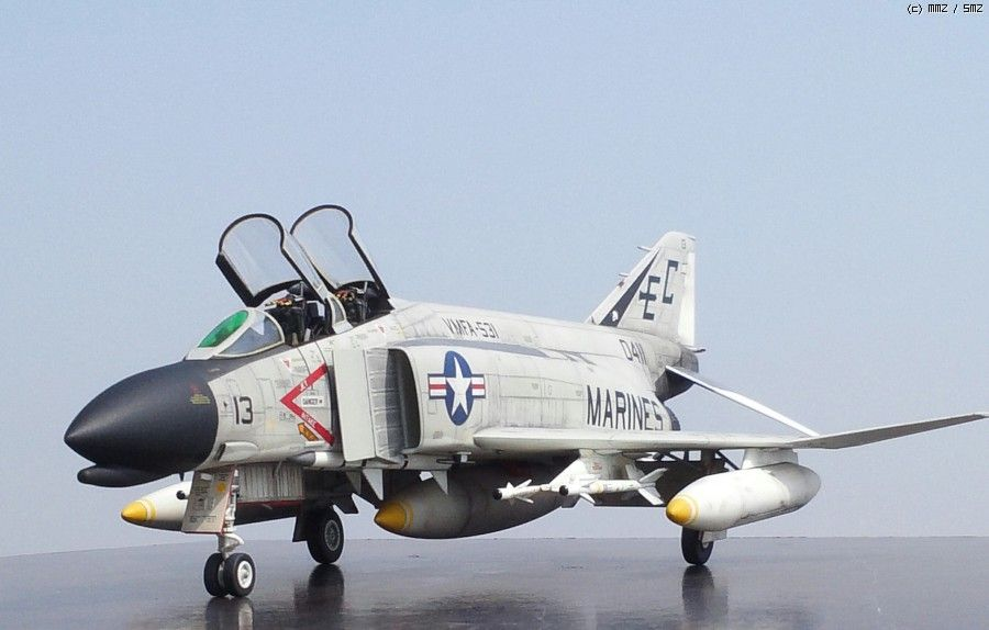 F-4B PHANTOM Ⅱ VMFA-531 DANANG 1965