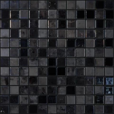 Black Velvet 1 Black Mosaic Tile Mosaic Pool Tile Glass Pool Tile