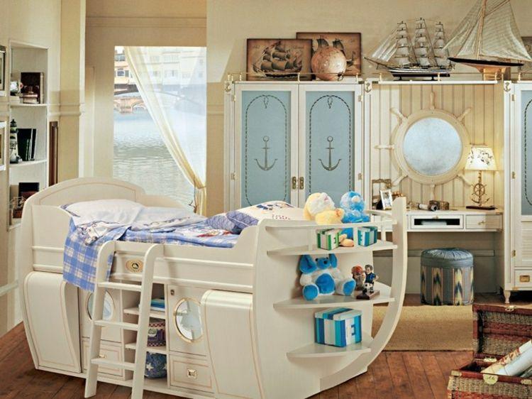 Babybett Mitwachsend Kinderbett Stauraum Schiff Form Holzbett Mit Stauraum Kinderbett Design Kinder Zimmer