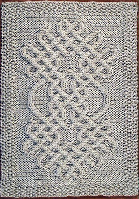 Celtic Motif (knot #064) pattern by Devorgilla's Knitting ...