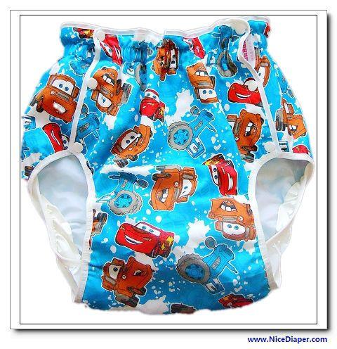 Adult baby diaper pants plastic